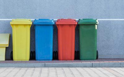 Affaldssortering er blevet populært offentlige steder